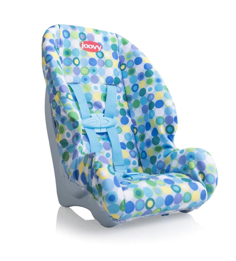 Toy Booster Car Seat - Blue