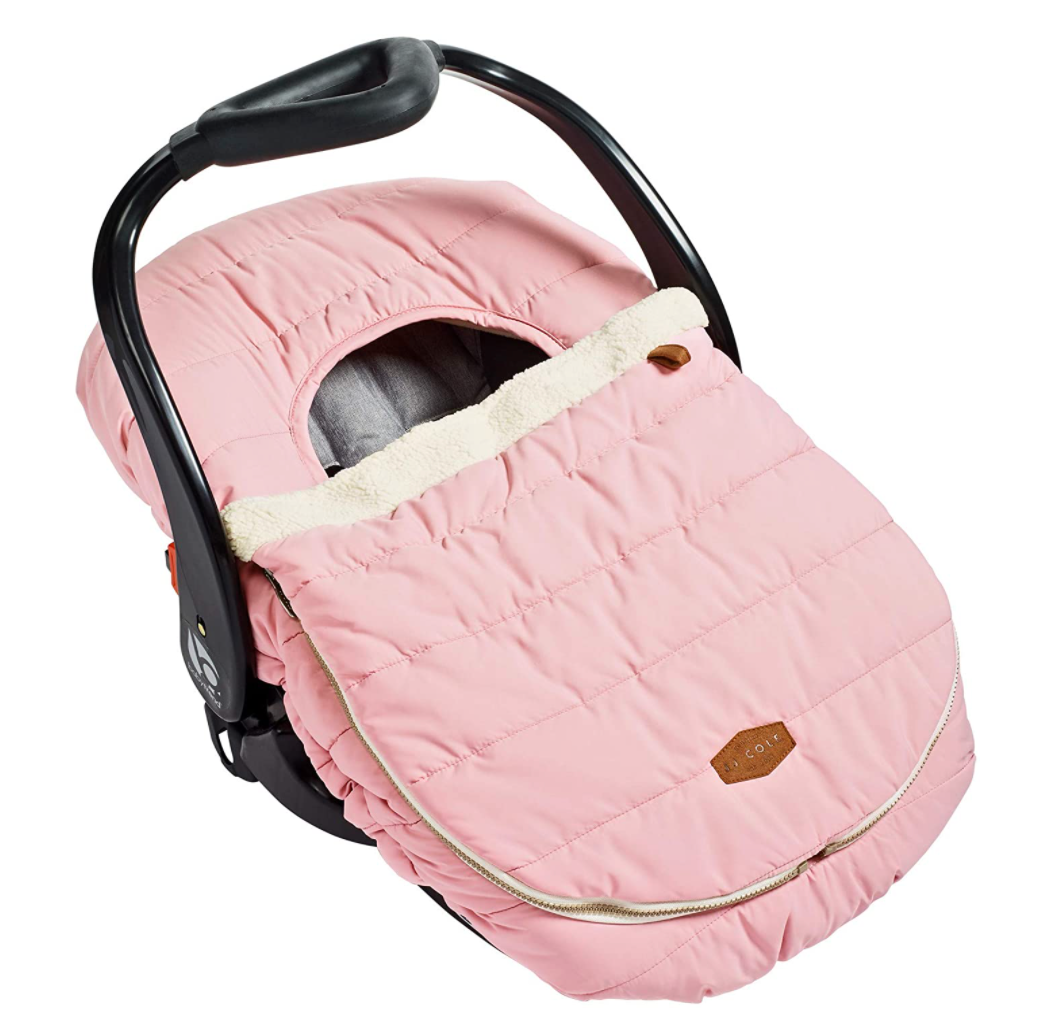 Car Seat Cover - Blush Pink