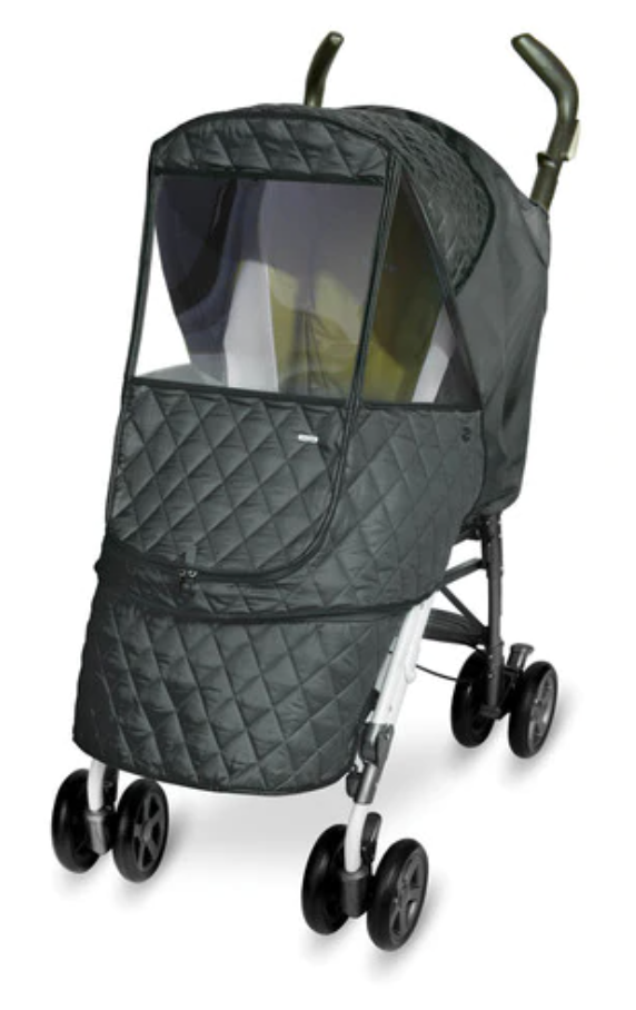 Alpha Stroller Weather Shield - Grey