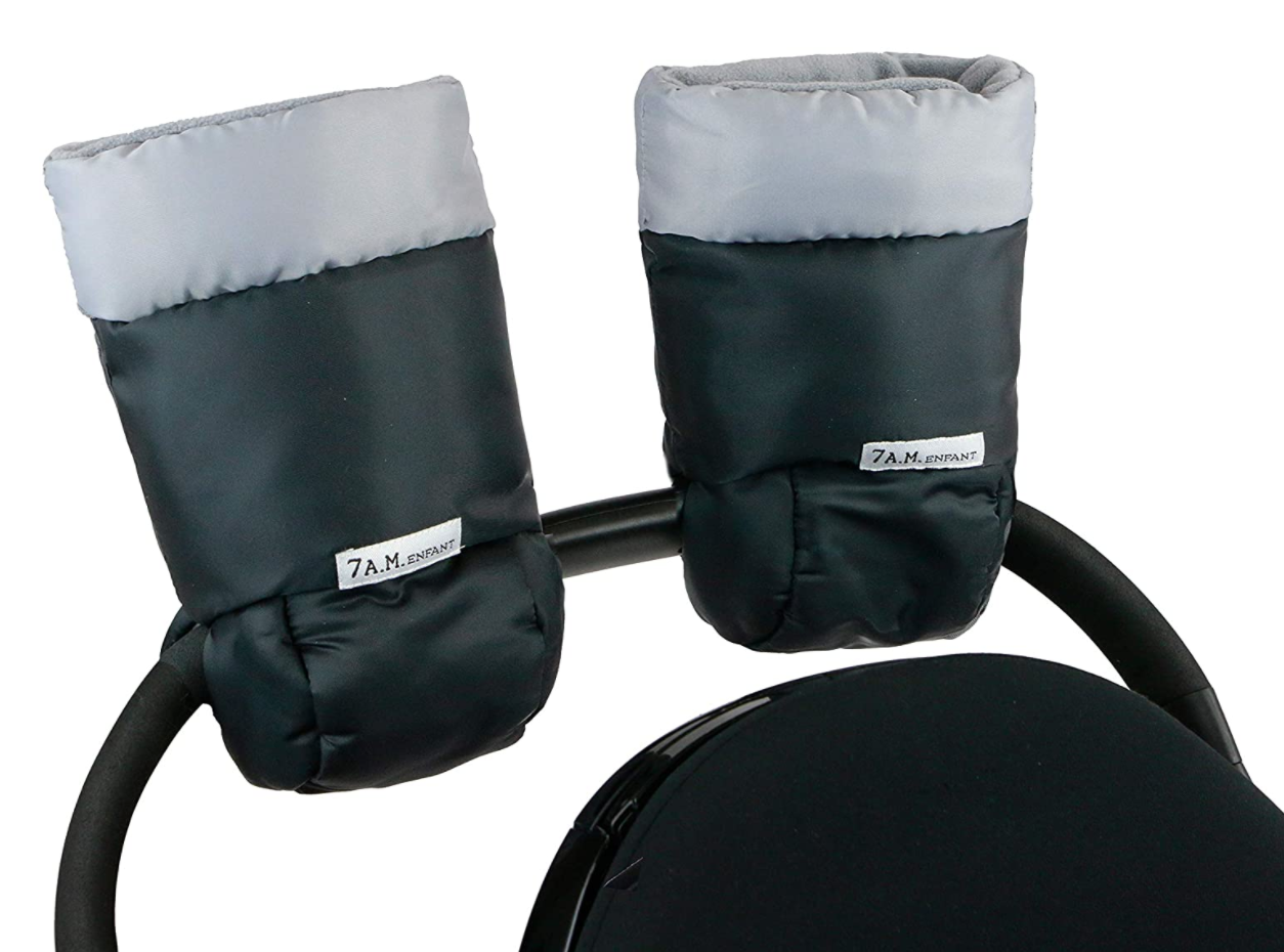 7AM Enfant Warmmuff - Black & Grey