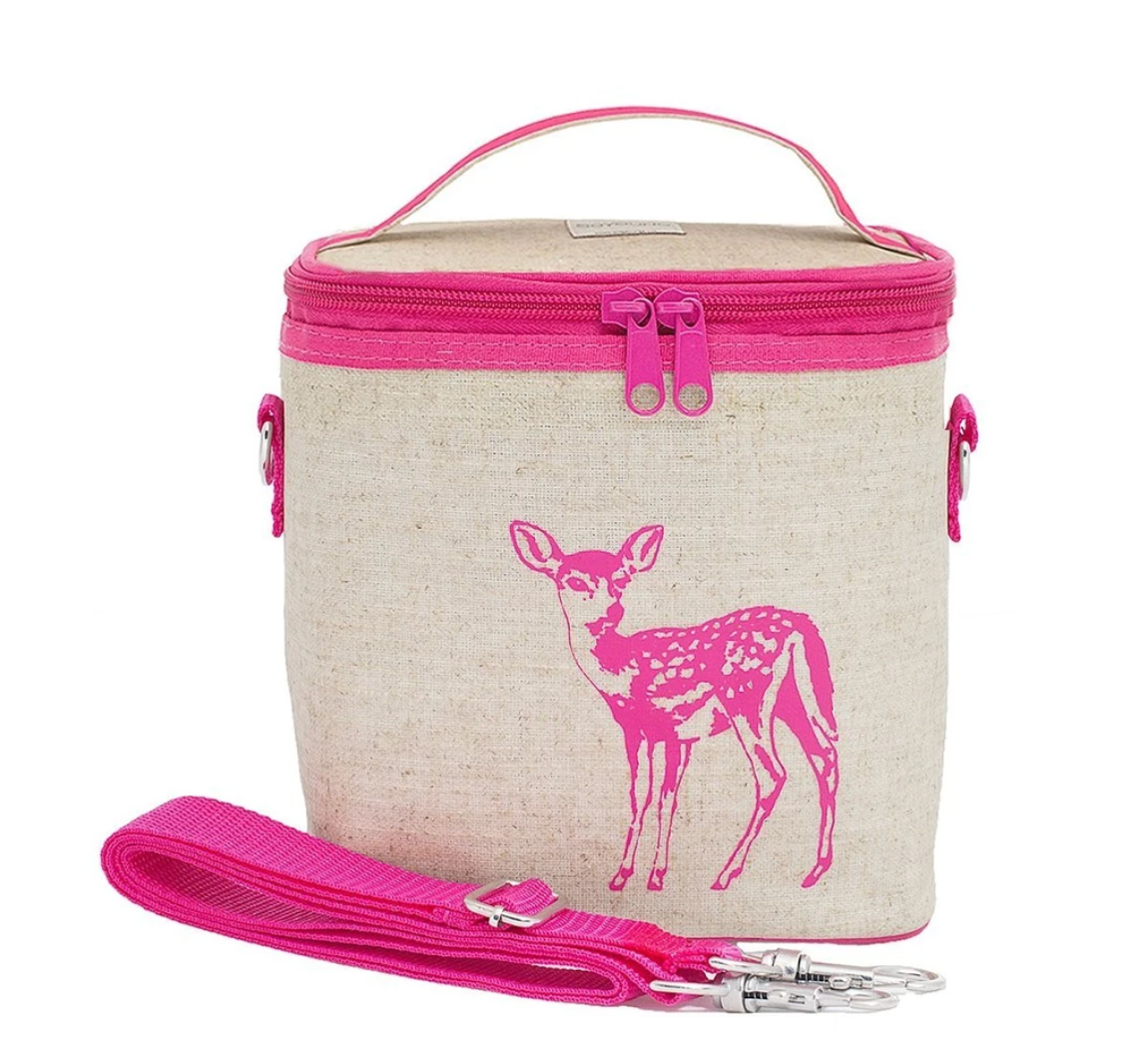 Cooler Bag Small -Pink Fawn