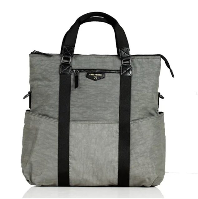 3-IN-1 Foldover Tote Diaper Bag