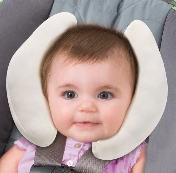 Cradler Newborn to Toddler Head Support in Ivory