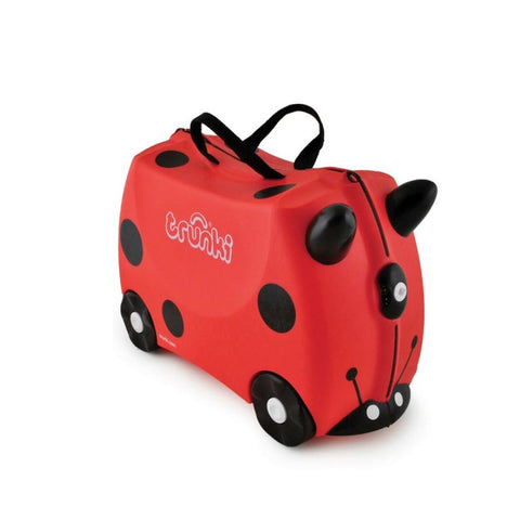 Ladybug Ride on Suitcase