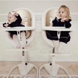 Moon 2 High Chair- White/Champaign