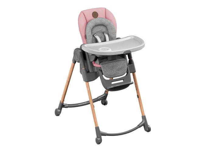 Minla High Chair - Essential Blush