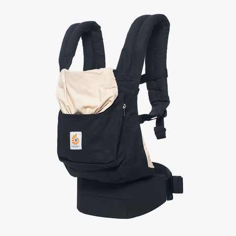 Original Baby Carrier Black & Camel