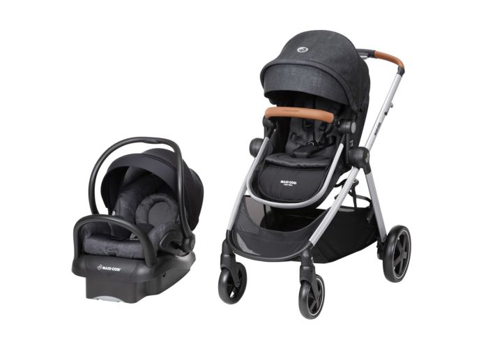 Zelia Max 5-in-1 Modular Travel System - Nomad Black