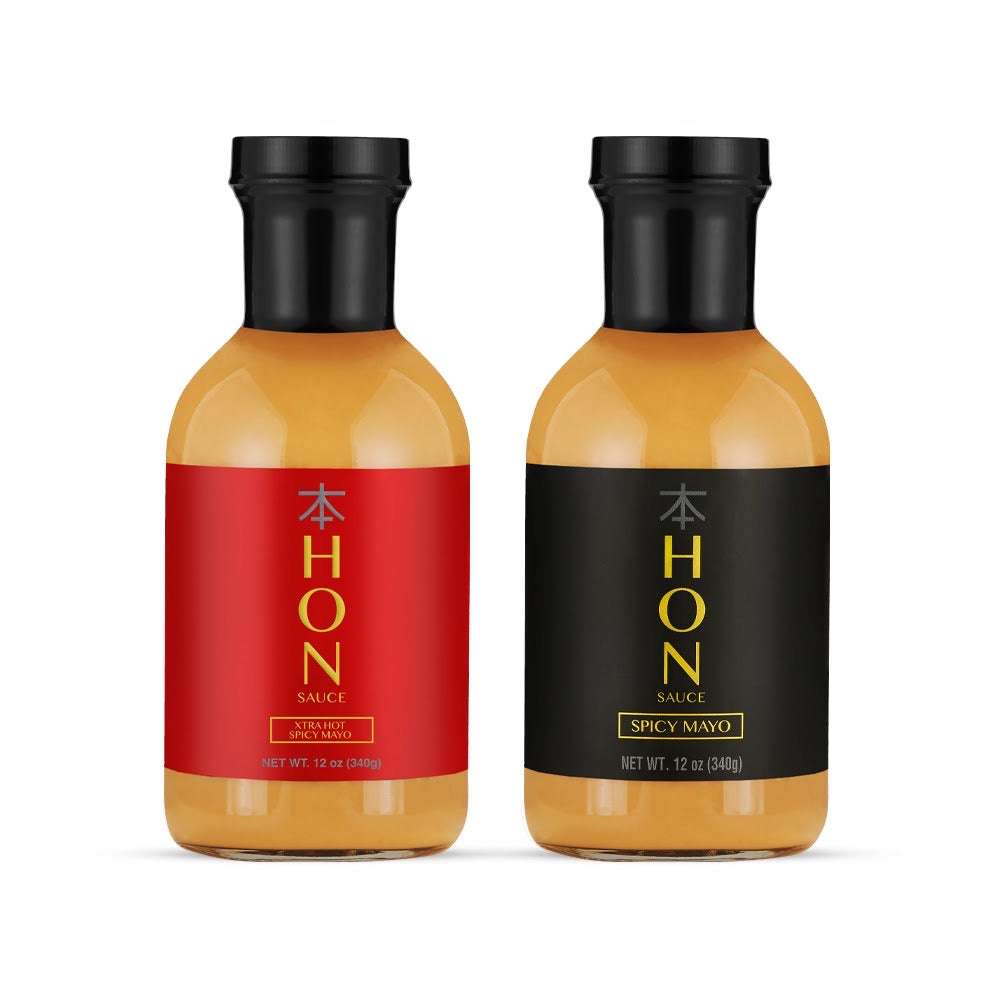 Hon Sauce Bundle (Extra Hot X Regular)
