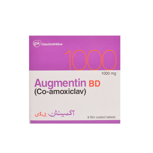 Augmentin Bd 1Gm Tablet