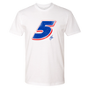 "The ""Big Five"" Tee - White"