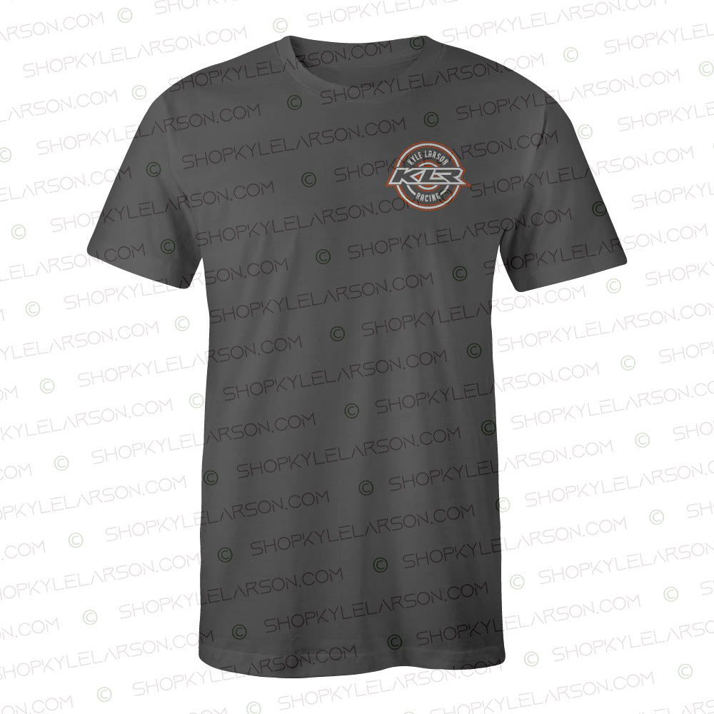 "KLR Badge | Charcoal ""57 Colors"" Tee Shirt"