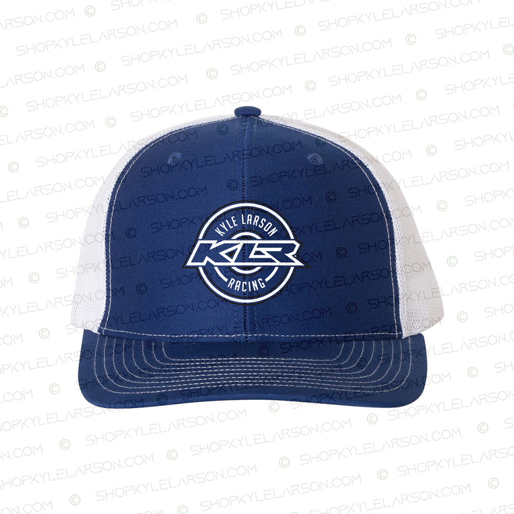 KLR Badge | Royal/White 6-Panel Snapback