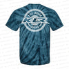 KLR Badge | Navy Tie Dye Tee Shirt