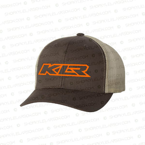 KLR | Brown/Khaki 6-Panel Snapback
