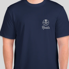 "Load image into Gallery viewer, Roots ""Running"" Shirt Dri Fit - navy & black"