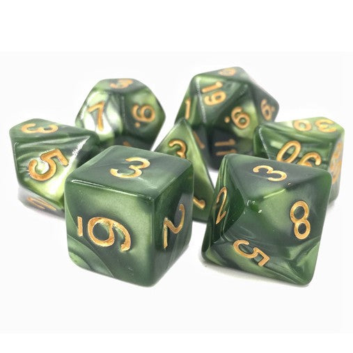კამათელი 7-set Druid's Summer GRgd RPG Dice