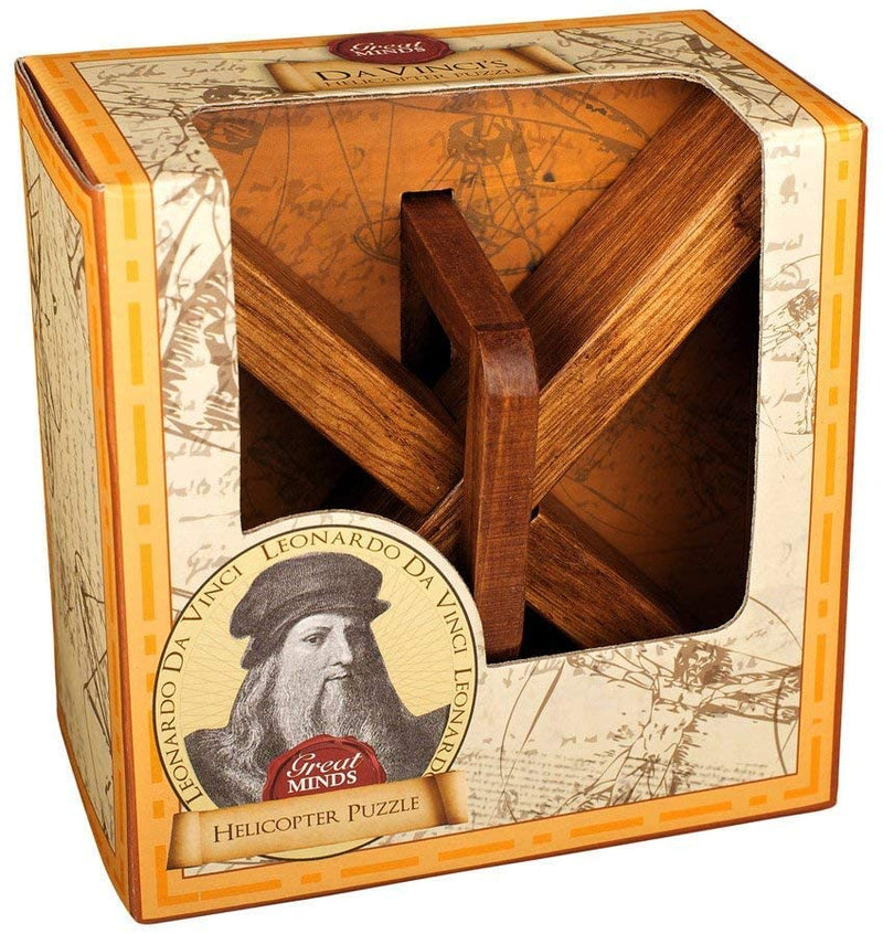 Great Minds Da Vinci's Helicopter Puzzle