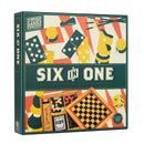 Board game Six in One - Wooden Games (Six in One - Wooden Games) Board game