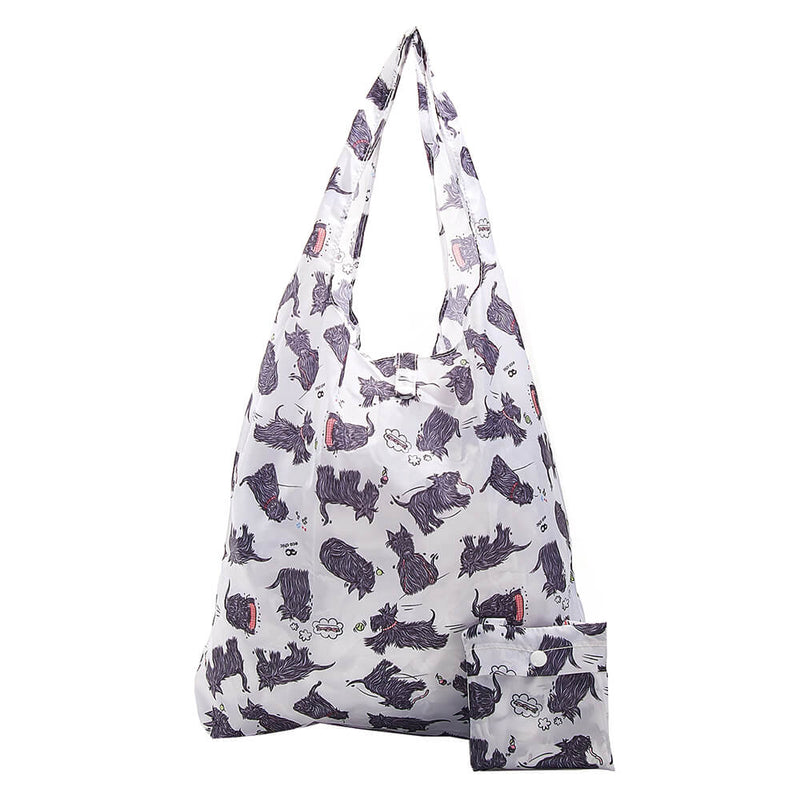 White Scatty Scotty Shopper - შოპერი