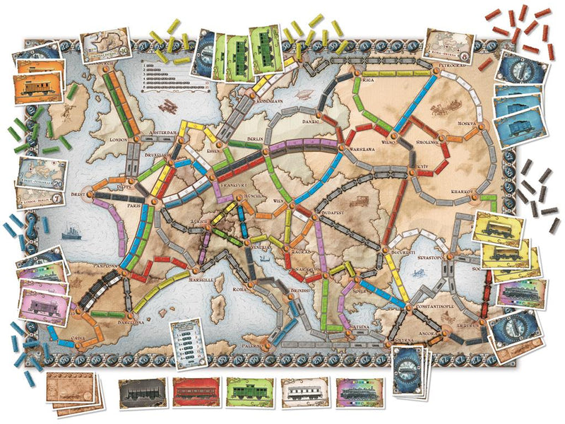 Ticket to Ride - Europe - English