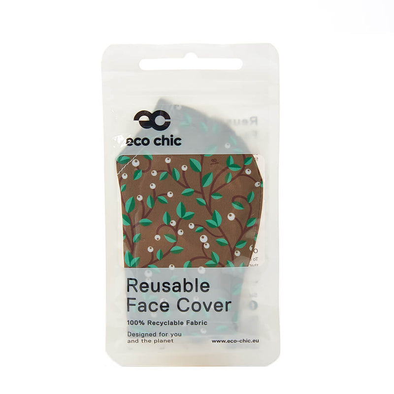 Brown Berry Trail Face Cover - პირბადე
