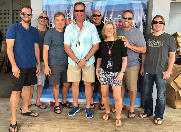 MyBevi Sponsors Sister Hazel Concert Event The Hazelnut Hang – Isle of Palms, SC
