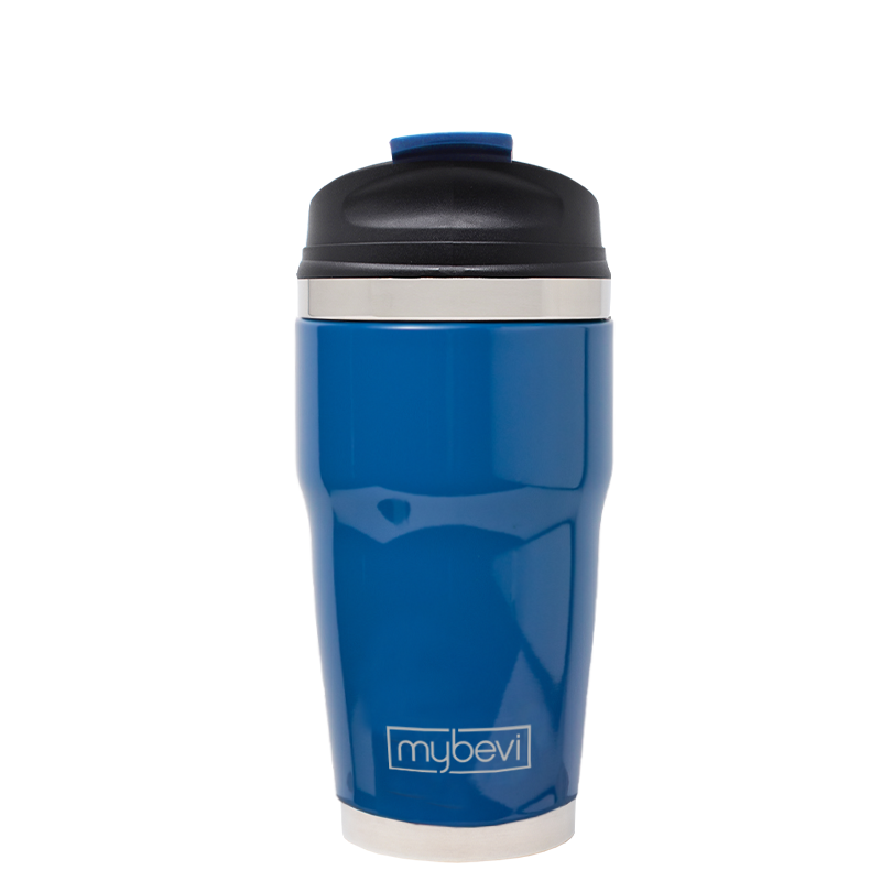 MyBevi 12 oz. Retro Wave - Snap Fit Lid