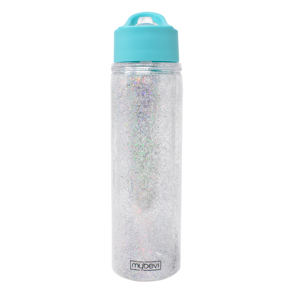 MyBevi 20 oz. Glitter Hydration Bottle