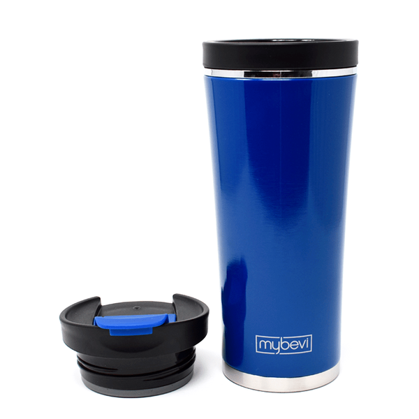 MyBevi 16 oz. Commuter Tumbler (2 Pack - Deep Blue)