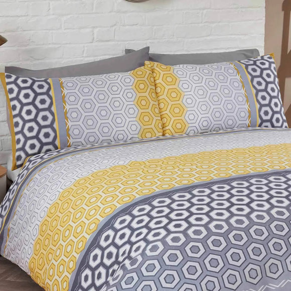 Barbican Geometric Duvet Set