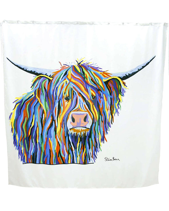Angus McCoo By Steven Brown Shower Curtain