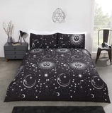 Celestial Metallic Duvet Set