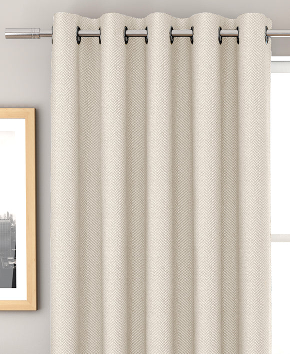 Bondi Textured Curtain Pair