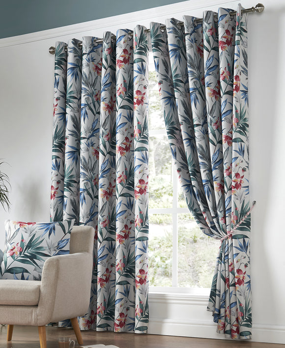 Florida Printed Curtain Pair