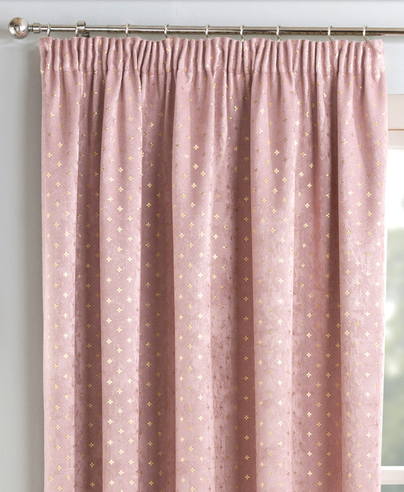 Gemini Metallic Curtain Pair