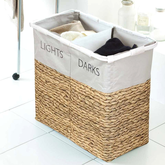 Hyacinth Multi Compartment Laundry Sorter