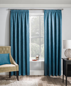 Matrix Textured Curtain Pair