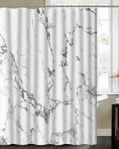 Madison Marble Shower Curtain Set