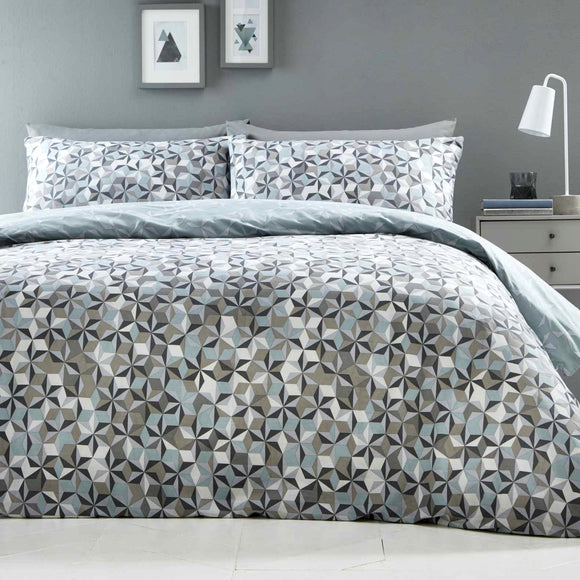 Oracle Geometric Duvet Set