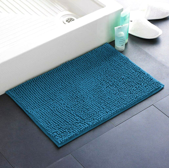 Chenille Step-Out Bath Mat