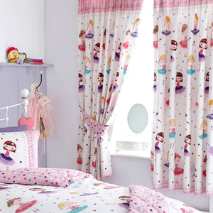 Kids Club Ballerina Bedroom Curtains
