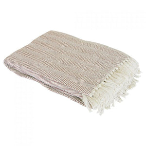 Como Herringbone Throw
