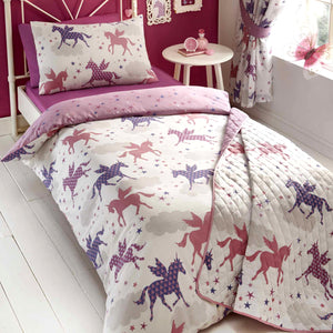 Kids Club Divine Unicorns Duvet Set