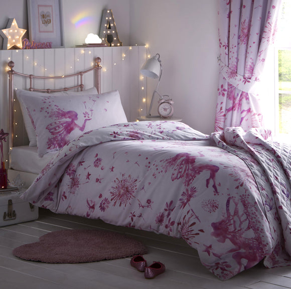 Kids Club Fairy Princess Duvet Set