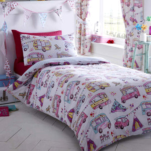 Kids Club Glamping Duvet Set
