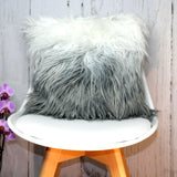 Faux Fur Long Pile Ombre Cushion