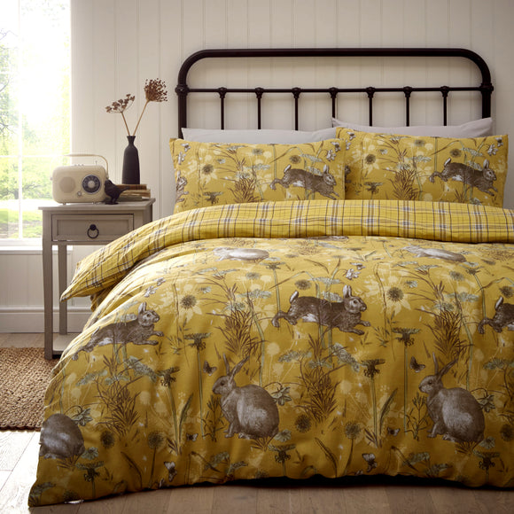 Rabbit Meadow Duvet Set