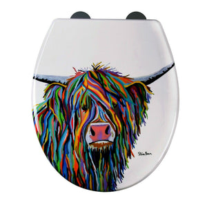 Angus McCoo By Steven Brown Toilet Seat
