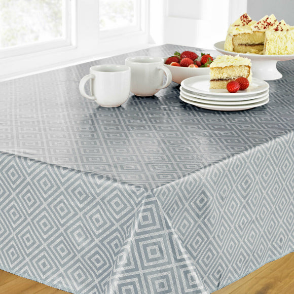 Geometric PVC Tablecloth